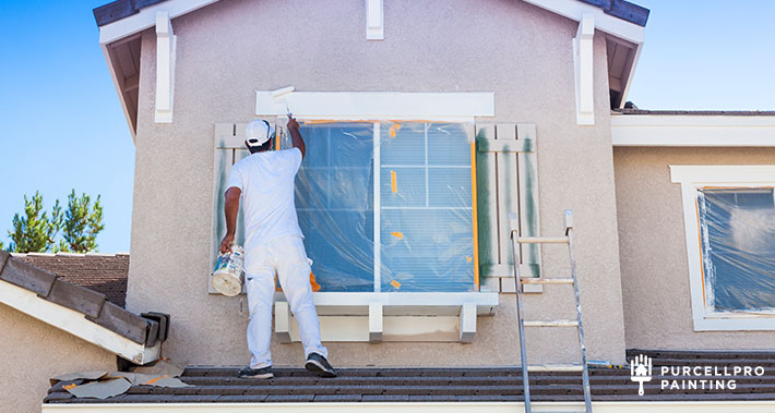 exterior house painting | Purcellpro Painting | Willow Grove PA Painter Services