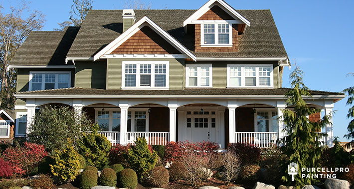 exterior home painting refresh | Purcellpro Painting | Willow Grove PA Painter Services