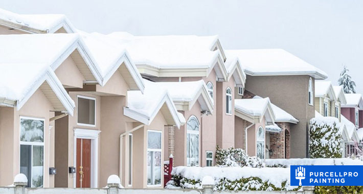 can you do exterior home painting in the winter months? | Purcellpro Painting | Willow Grove PA Painter Services