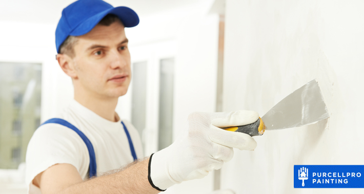 how and when to apply drywall putty   Purcellpro Painting   Willow Grove PA Painter Services